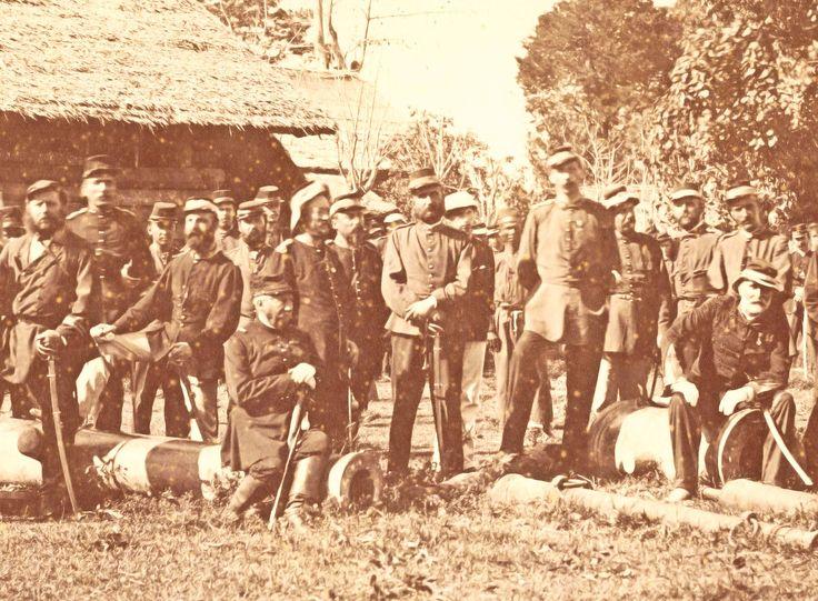 Op 24 januari 1874 werd, tijdens de tweede expeditie naar Atjeh, de Kraton veroverd.
