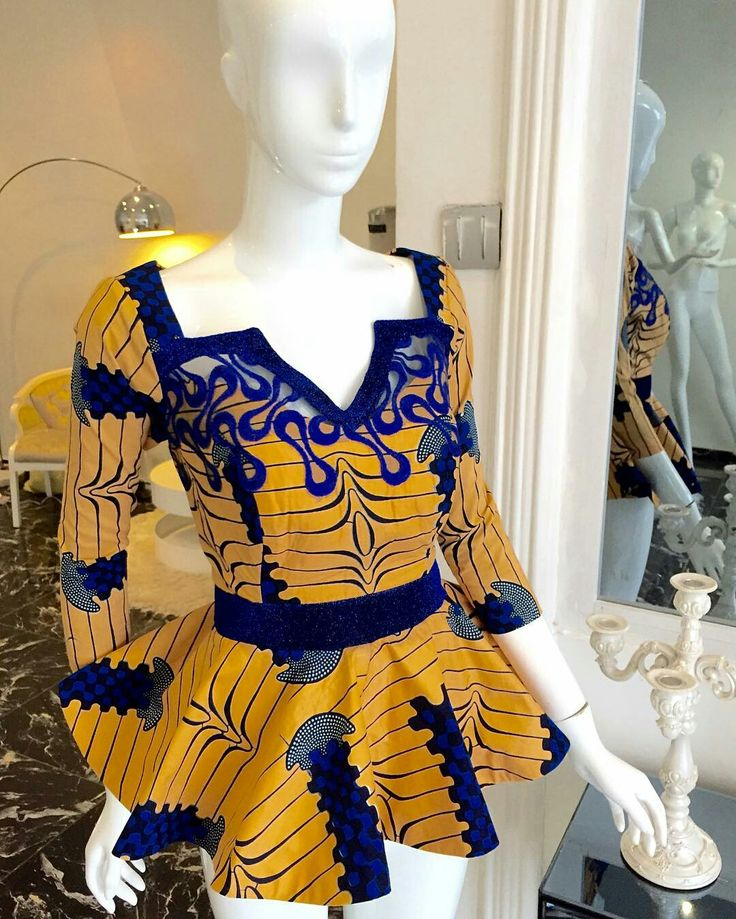 0000 Why limit your Ankara style to mid or long dresses and simple tops when you can wear the iconic peplum staples! Just in time for the holidays, you can…