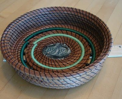 Catching The Moon: Weaving My Life: New Baskets from Vicki Loiseau / LaWhoDesign