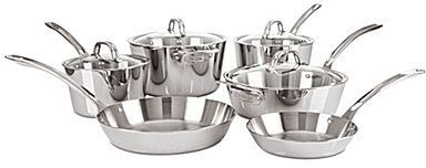 Viking Contemporary 3-Ply Mirror-Finished 10-Piece Cookware Set - $399.99