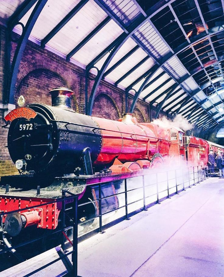 harry potter, train to hogwarts