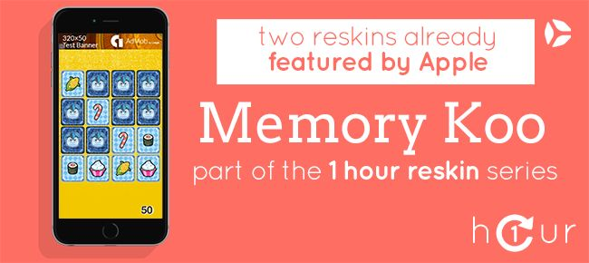 Memory Koo - One Hour Reskin | App Code for Sale | Hero