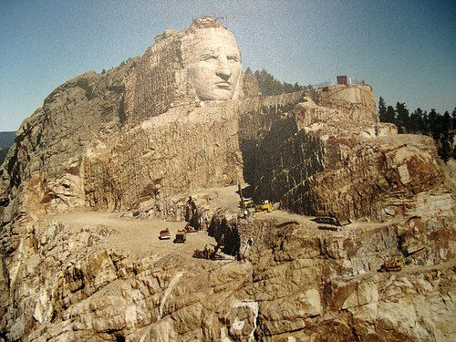 Crazy Horse Memorial. Photo Credit