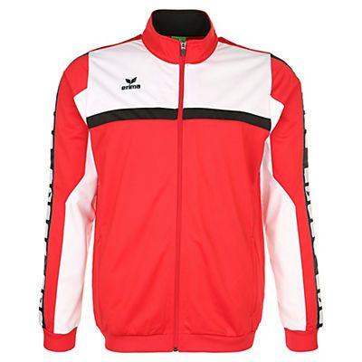 *Werbung* ERIMA 5-CUBES Polyesterjacke Kinder in rot/weiß/schwarz im Online Shop von Baur Versand - direkt+addon