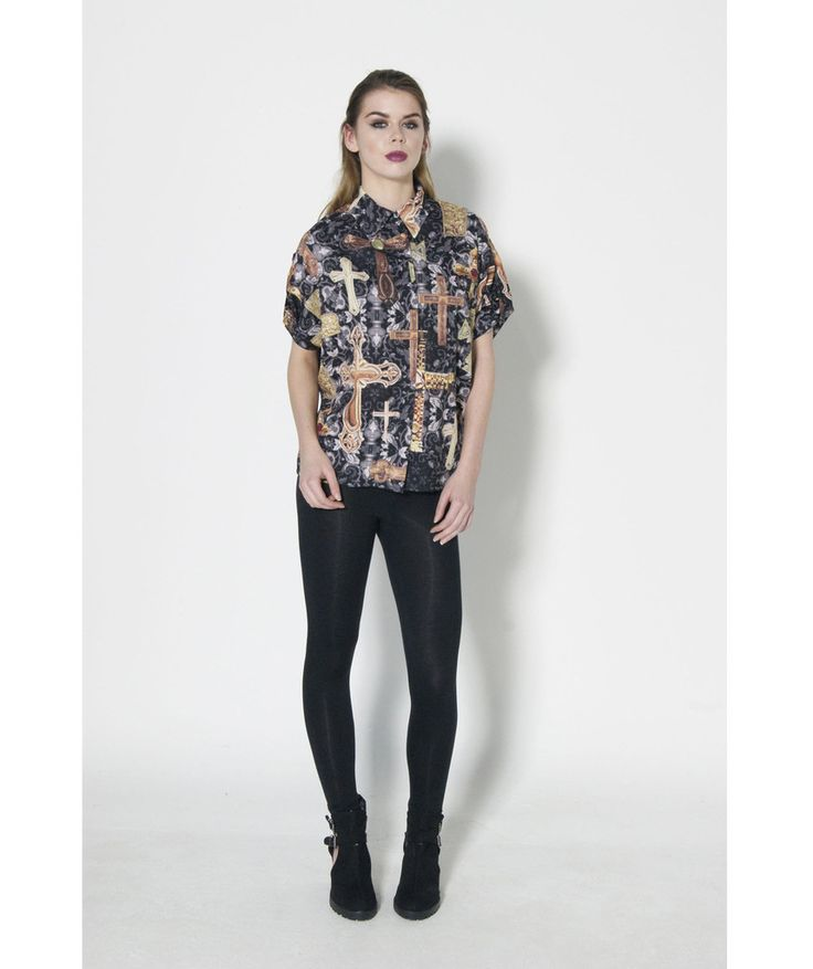 Dead Lovers Crucified Batwing Shirt
