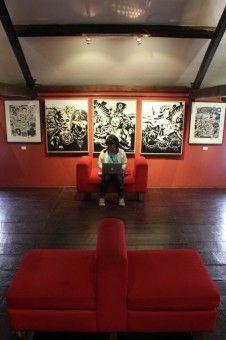 Ahadin Syarifudin Fahmi: Diambil di Pameran Seni Grafis Indonesia di House of Sampoerna Surabaya