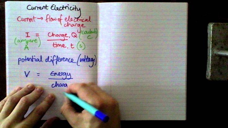 BCS GCSE Additional Physics Revision -- Current, Voltage & Resistance