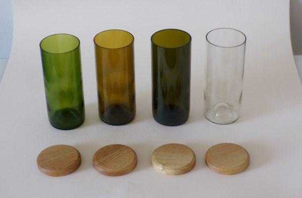 Лезть в бутылку: дизайнерские кухонные предметы из-под вина