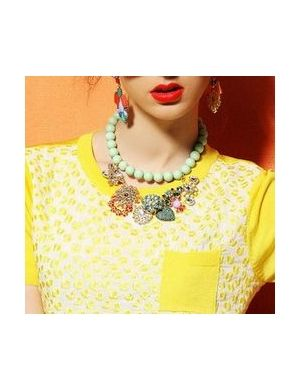 KHANH Statement Diamante Necklace  #jessicabuurman #wishlist