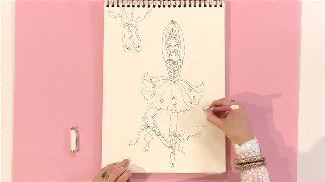 Technisch tekenen: Ballerina
