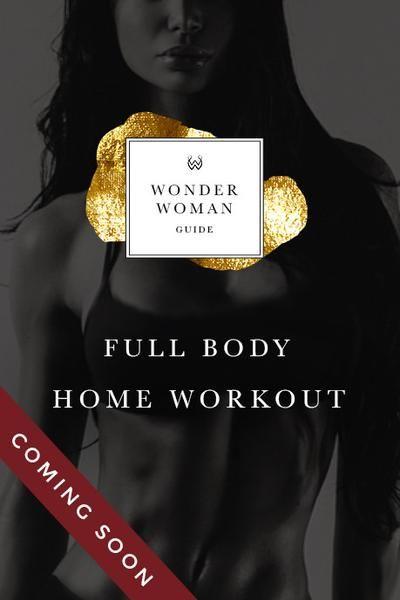 Wonder Woman Full Body Workout Guide