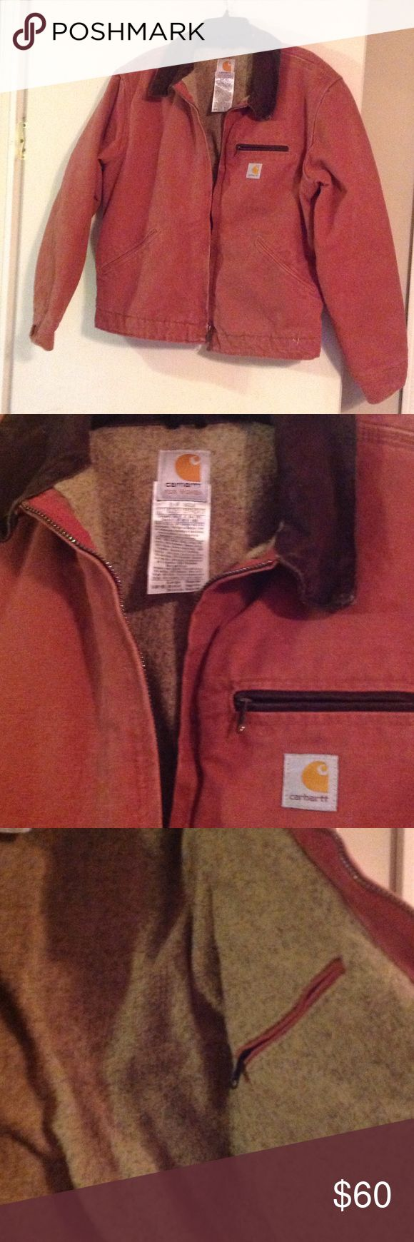 Ladies Carhartt coat size lg Great condition with no holes, tears, stains, etc, smoke free home, warm lining Carhartt Jackets & Coats Jean Jackets