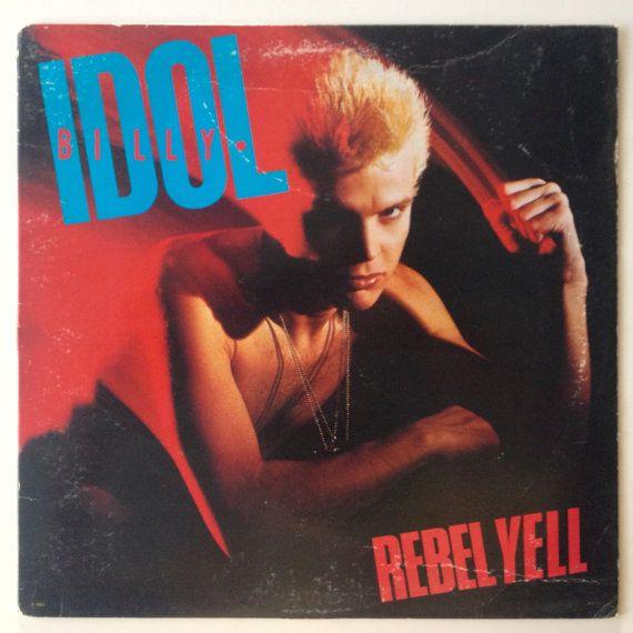 Billy Idol  Rebel Yell LP Vinyl Record Album by ThisVinylLife