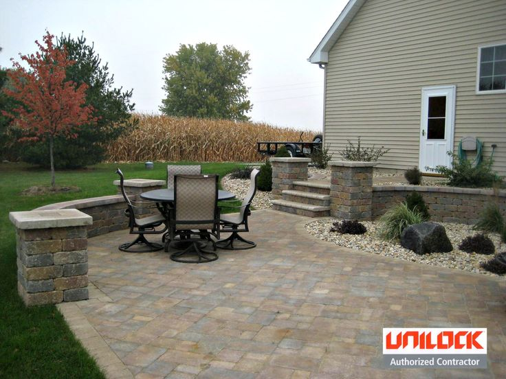 Backyard Enclosures Lombard :  about Unilock Pavers on Pinterest  Pavers Patio, Pool Decks and Patio