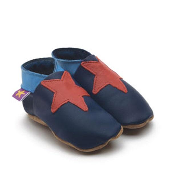 stella navy soft shoes by Starchild
