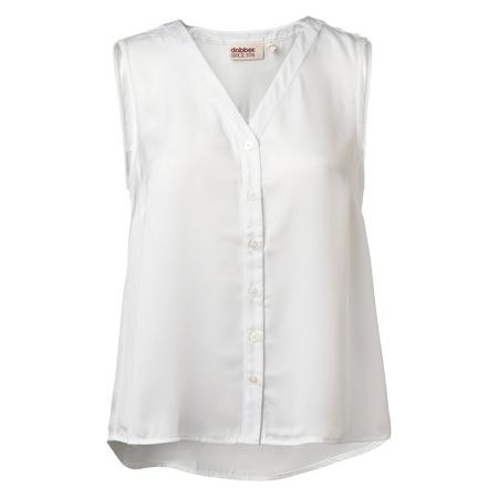 DOBBER - Sylvia sleeveless shirt #MQ #Mqfashion