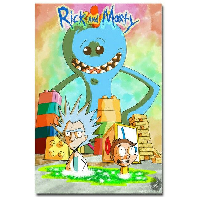 Rick And Morty Rick And Morty Fabric Poster Morty