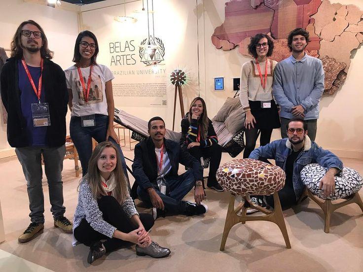 A @belasartes trouxe para salão satélite de Milão um time de 8 novos talentos sob curadoria de @mglima8 com produtos de design que refletem brasilidade seja na textura na matéria prima ou no próprio projeto. O jovem time é formado por @nathalia_nova @ericlaiza.design  @artehelo @deboramajedo.design @lucas.lima.design @sofia.venetucci @luizantonioazzolino @lucas.santos.lsdesign