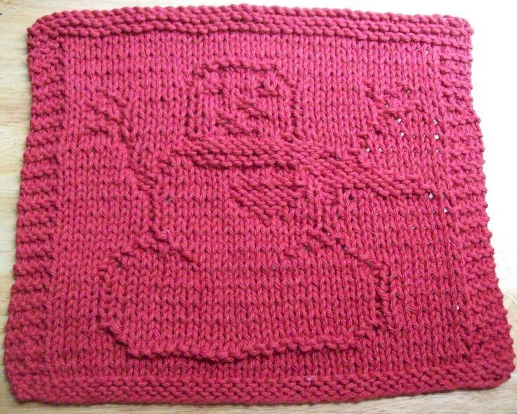 Christmas Dishcloth Knitting Patterns : Best knitted dishcloths images on pinterest knitting