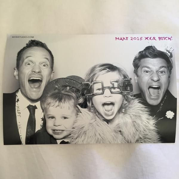 """Neil Patrick Harris' Family Wish You A Happy New Year, Encourage You To """"Make 2015 Your Bitch"""""""