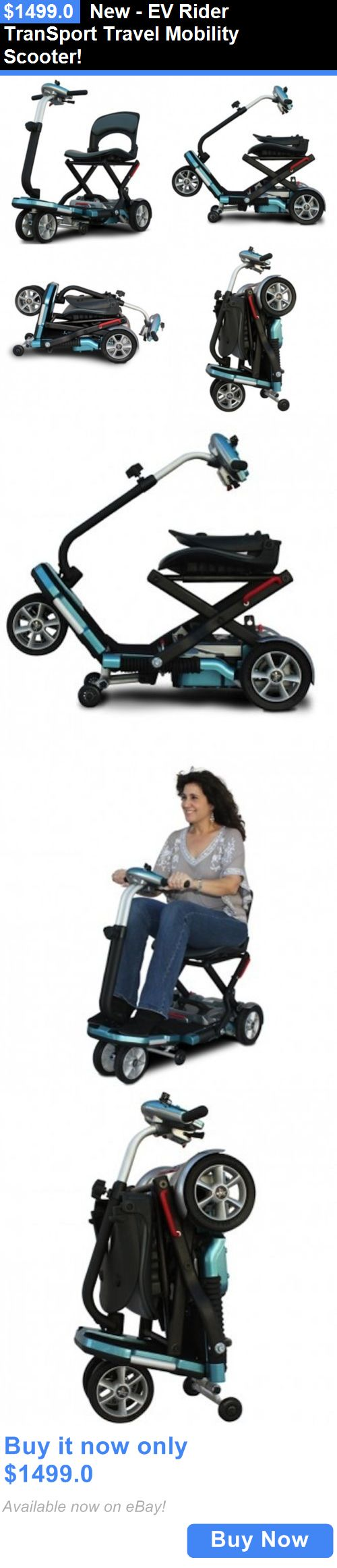 Mobility Scooters: New - Ev Rider Transport Travel Mobility Scooter! BUY IT NOW ONLY: $1499.0