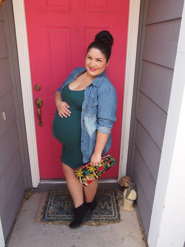 plus maternity dress styles