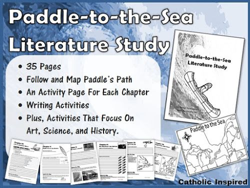 Paddle To The Sea Literature Study Learn Geography And