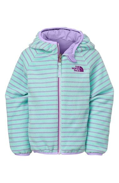 The North Face 'Grizzly Peak' Reversible Hooded Wind Jacket (Toddler Girls & Little Girls) available at #Nordstrom
