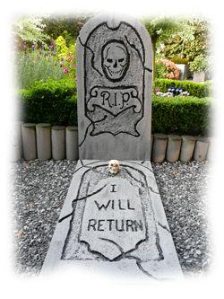 Tombstone 1    on www.Happyhalloween.nl