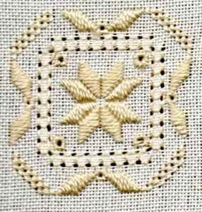 Simple free hardanger patterns and free course at http://www.needlework-tips-and-techniques.com
