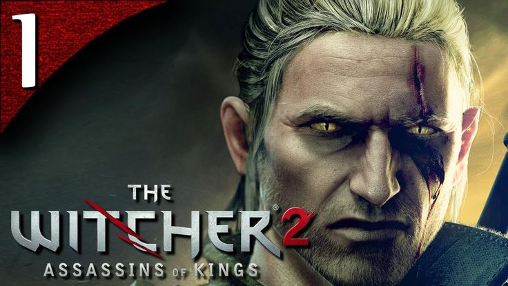 Let's Play The Witcher 2 [BLIND] - Part 1 - Introduction and Tutorial [E...