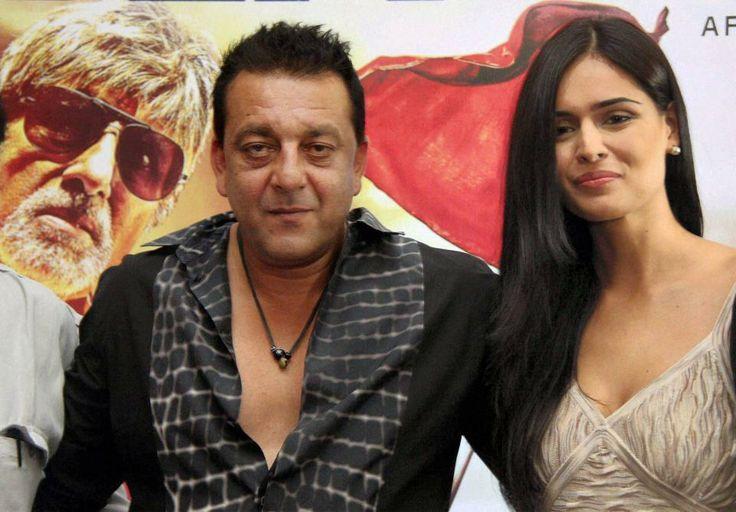 Nathalia Kaur With Sanjay Dutt