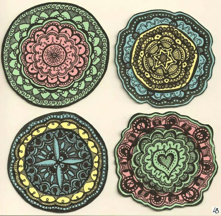 "Mandalas, or ""time misused in Afrikaans class"""