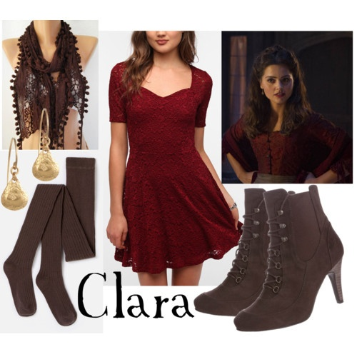 Modern version of Victorian Clara