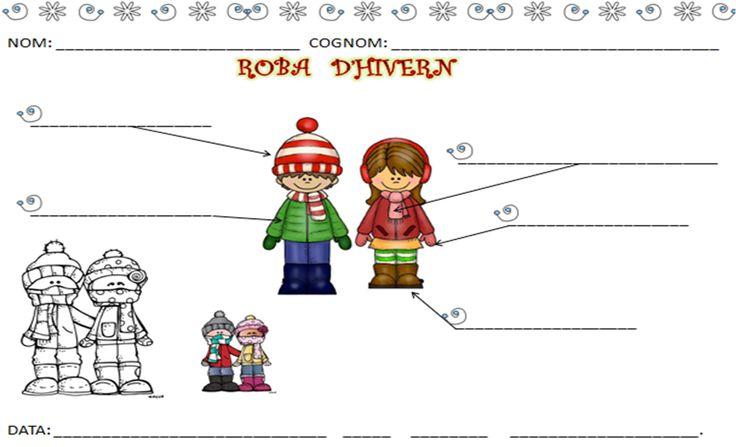 INFANTILCASTELL: materiales, fichas, recursos educación infantil : hivern