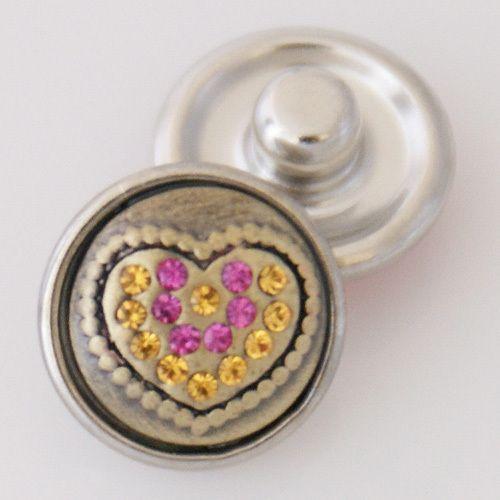 12 мм ювелирные изделия защелки, симпатичные металлические кнопки с медным дном для браслет / ожерелье pendfant ювелирные изделия KB3159-S