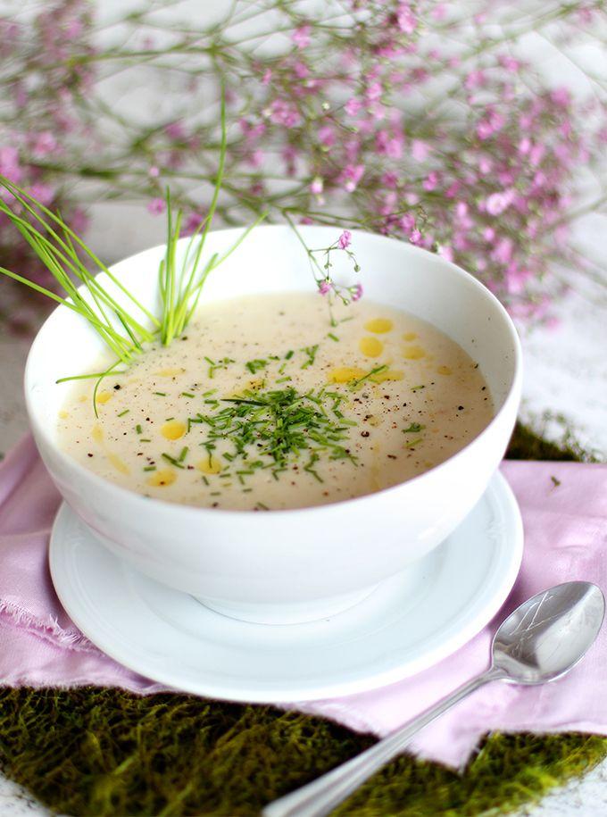 Die beste Spargelcremesuppe der Welt aus dem Alten land | The world's best asparagus cream soup
