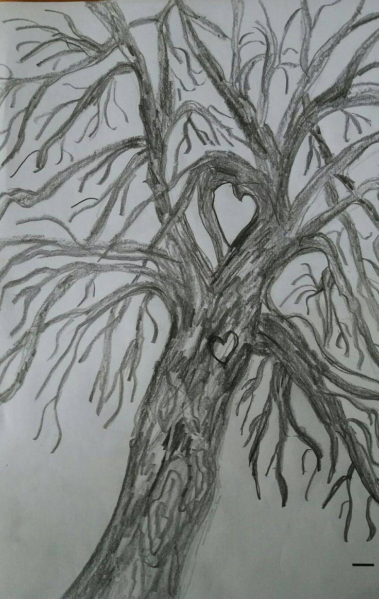 KuvaMaalari matkustaa : Minun puuni on puistolehmus Se on 15-v kasvanut j...