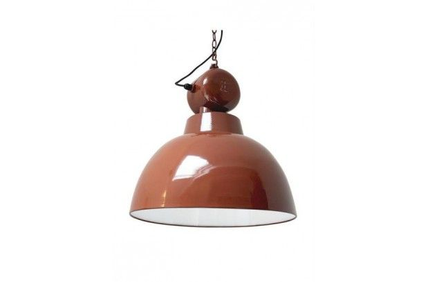 Lámpara Vintage Factory Roja