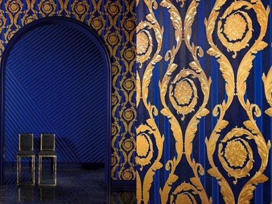 17 best versace home wallpaper images on pinterest for Wallpaper versace home