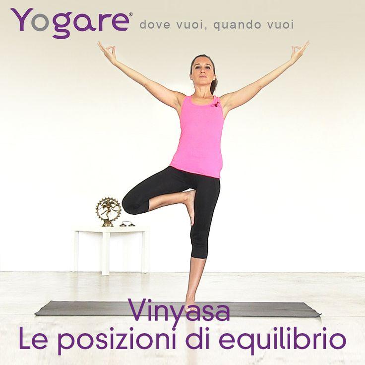 Introduzione Vinyasa Le posizioni in equilibrio con Sara C.N. Bigatti su #Yogare  http://www.yogare.eu/video-157 #Yoga