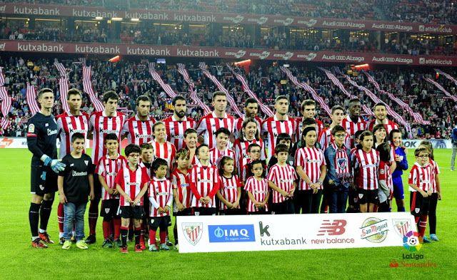 EQUIPOS DE FÚTBOL: ATHLETIC CLUB DE BILBAO contra Barcelona 28/10/2017 Liga de 1ª División
