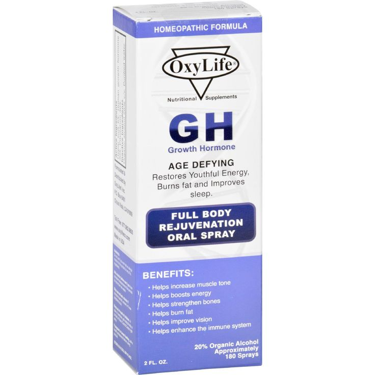 Homeopathic hgh sprays effectiveness