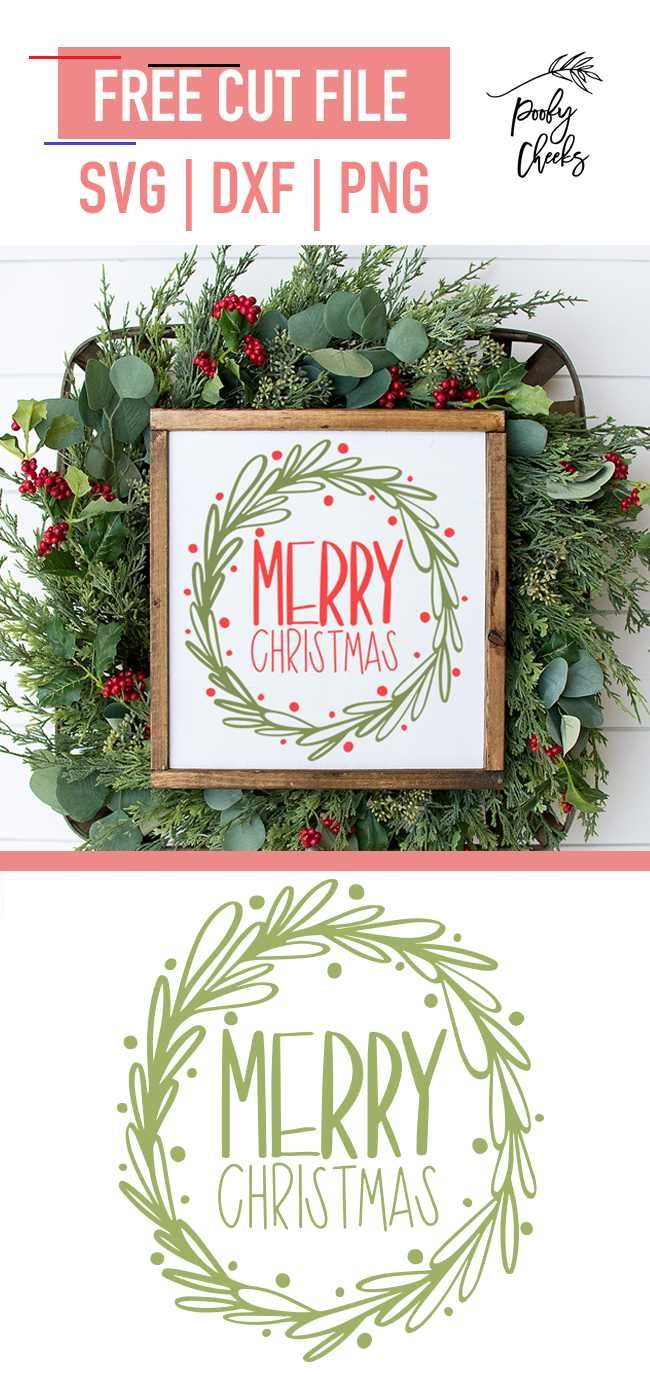 merrychristmas in 2020 Christmas svg files, Merry