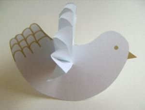 Martin Luther King Day activities: Activity Village has 10 MLK Day crafts like this Dove Of Peace.