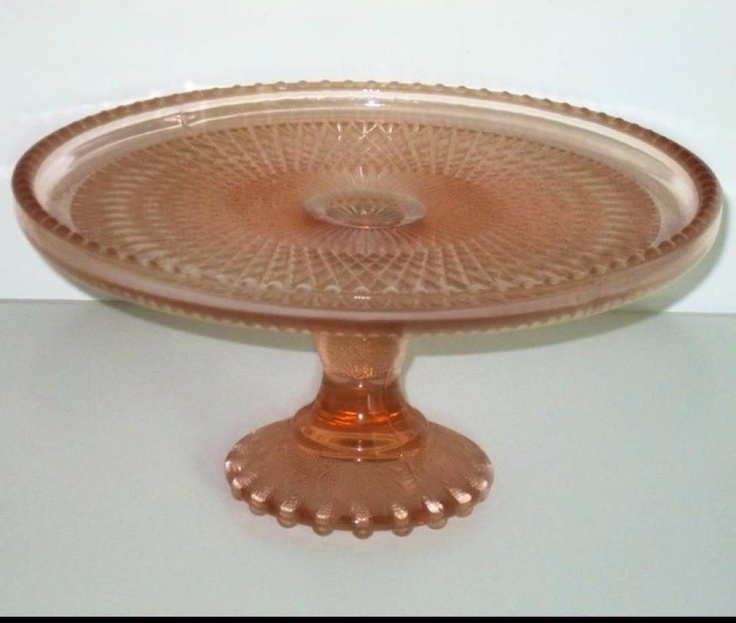 90 best images about cake stands on pinterest antique for Colored glass cake stand