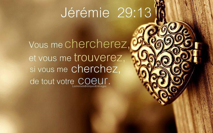 Jérémie 29 ; 13 | L'Epouse de Christ