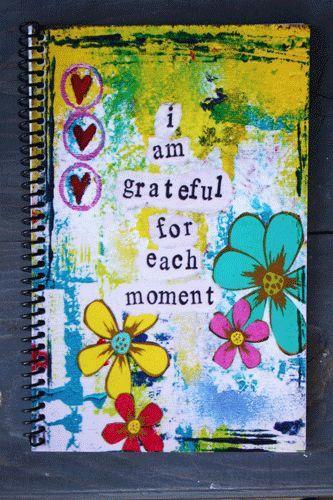 I am Grateful For Each Moment.... - Kathleen Tennant Mixed Media Art
