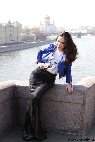 Наталия Орейро устроила фотосессию на Красной площади — C-Lebrity