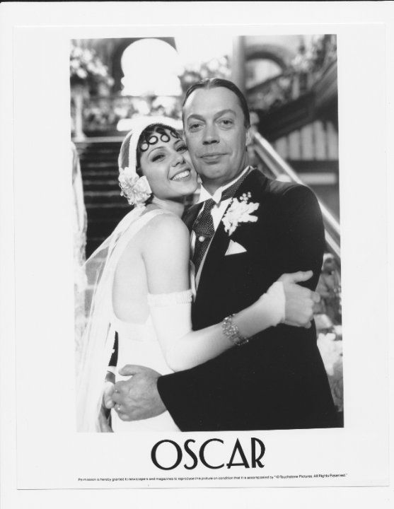 Oscar (1991) Marissa Tomei and Tim Curry